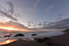 2018年尻労海岸での初日の出 その1