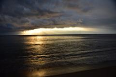 光芒と引き潮