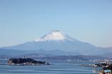 江ノ島越しのMt Fuji