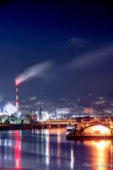 田子の浦夜景