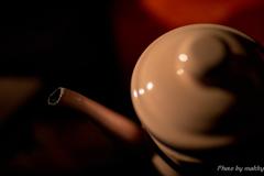 コーヒーを