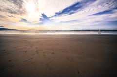 砂まみれの午後
