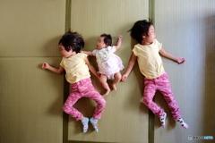 我が家の娘は三姉妹