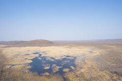 コッタロ湿原展望台からの釧路湿原