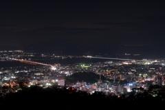 徳島の夜景