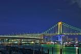 東京の夜をドライブ