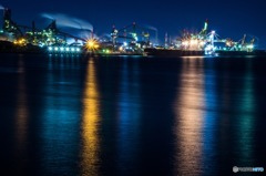 新日鐵工場夜景