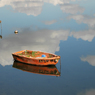 船流し、雲を行く