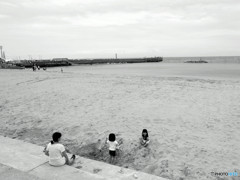 日間賀島・My Beach