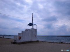 日間賀島・海よ