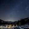 山里の星景