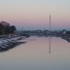 夜明けの...river