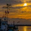 漁港の正月