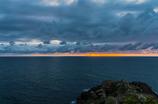 水平線夕景