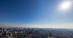 view from Roppongi hills SKYDECK #3