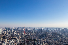 view from Roppongi hills SKYDECK #4