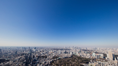 view from Roppongi hills SKYDECK #2