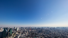 view from Roppongi hills SKYDECK #1