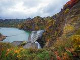 豊平峡の秋