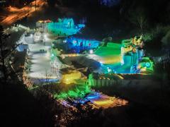 氷瀑まつり:会場(上川町層雲峡温泉)