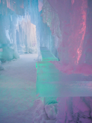 氷瀑まつり:氷室バー