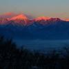 安曇野の朝