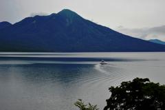 静寂の支笏湖にて、、、、