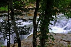 恵庭渓谷 白扇の滝7
