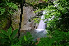 恵庭渓谷 白扇の滝5