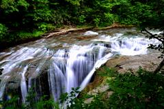 恵庭渓谷 白扇の滝1