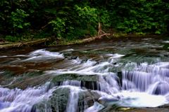 恵庭渓谷 白扇の滝3