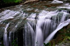 恵庭渓谷 白扇の滝4