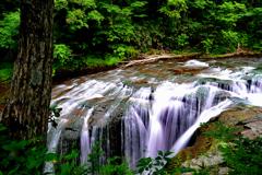 恵庭渓谷 白扇の滝2