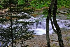 恵庭渓谷 白扇の滝6