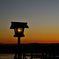 嵐山 渡月橋の夜明け