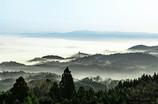 雲海のシーズンです。