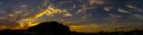 里の夕景2