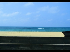 夏の境界線。