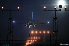 737最終便が
