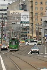 市電のある町