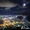 月夜の函館