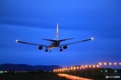Landing 767