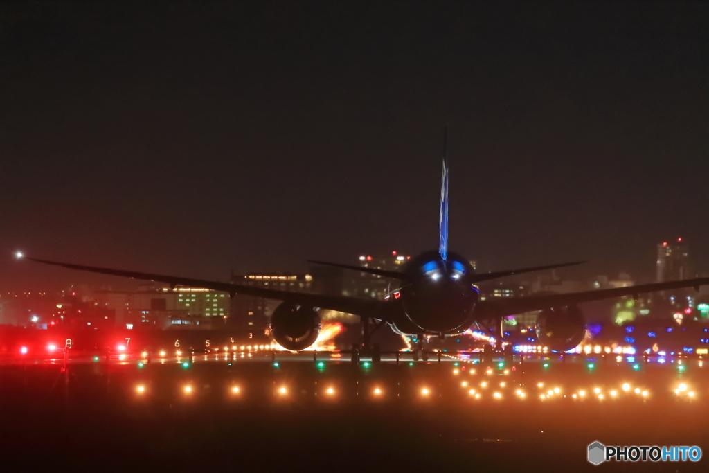 787離陸