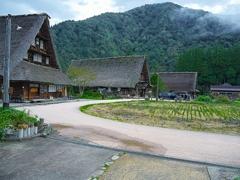 日本風景1226 茅葺