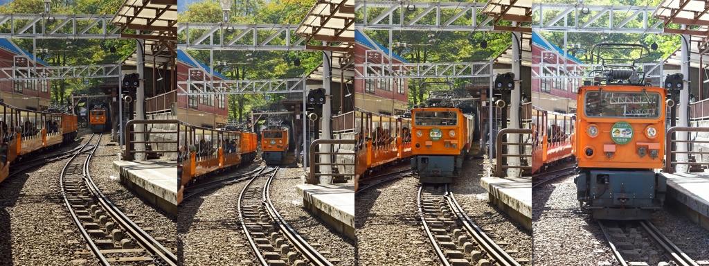 黒部奥山2015:鐘釣駅にて by k-...