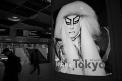 モノクロ散歩2018:新宿駅西口広場
