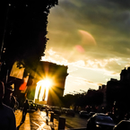 PENTAX PENTAX K10Dで撮影した(黄昏の凱旋門)の写真(画像)