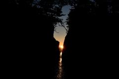 神割崎の日の出②