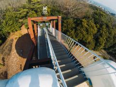 浮雲の桟橋 階段