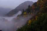 霧の鈴鹿山脈
